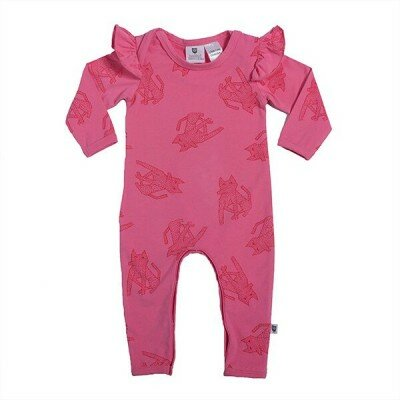 Hootkid Sit Boo Boo Romper - Candy Pink
