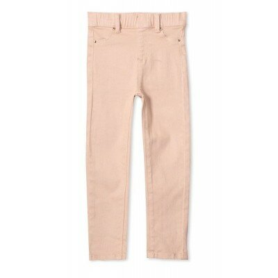 Milky Coloured Jean - Dusty Pink