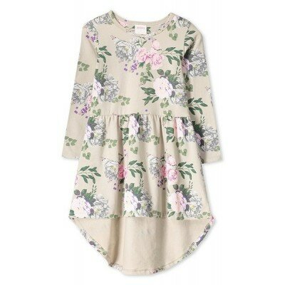 Milky Vintage Floral Dress
