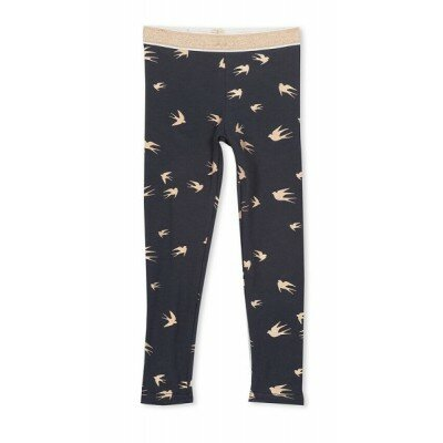 Milky Foil Birds Leggings