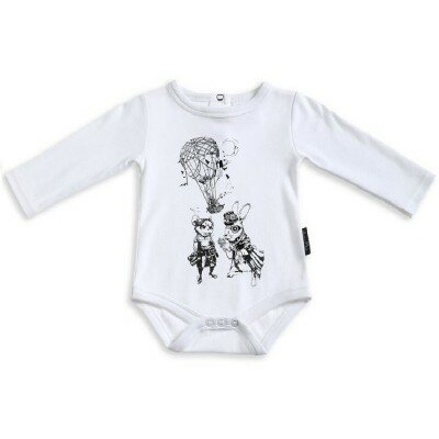 Aster and Oak Air Balloon and Pilots Onesie