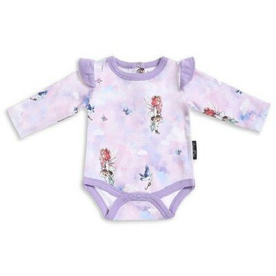 Aster and Oak Unicorn and Fairy Print Onesie