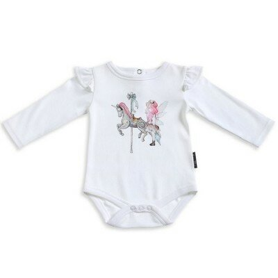 Aster and Oak Unicorn and Fairy Flutter Onesie