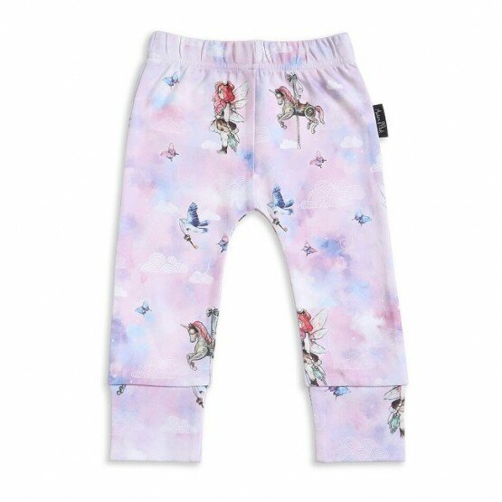 Aster and Oak Unicorn and Fairy Legging Pants