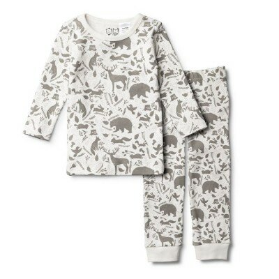 Wilson and Frenchy Wild Woods Pyjama Set