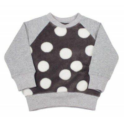 SOOKIbaby Big Dot Fleece Sweater