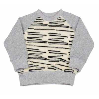 SOOKIbaby Tiger Stripe Fleece Sweater