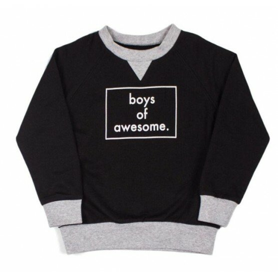 Tiny Tribe Boys Of Awesome Sweater