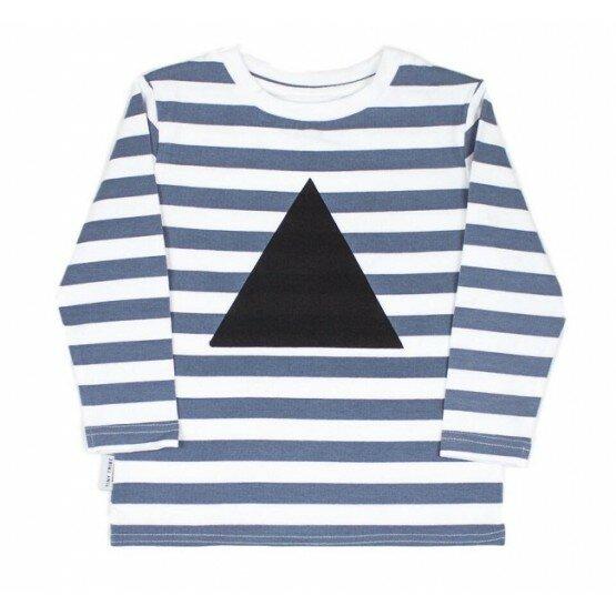 Tiny Tribe Stripe Triangle Tee