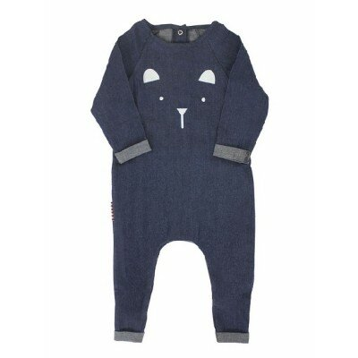 SOOKIbaby Chambray Bear Romper