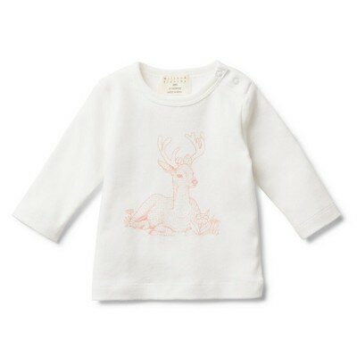 Wilson and Frenchy Little Deer LS Tee