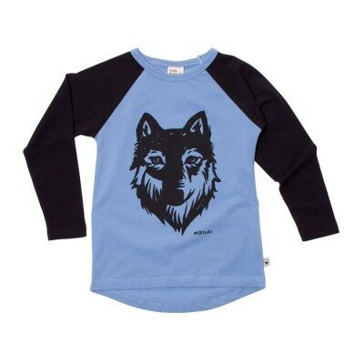 Milk and Masuki Wolf Long Sleeve Tee