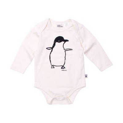 Milk and Masuki Penguin Bodysuit