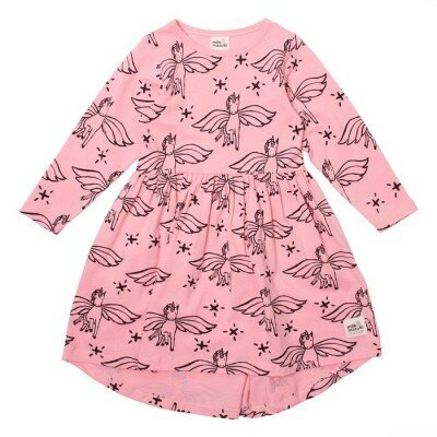 Milk and Masuki Unicorn Long Sleeve Dress