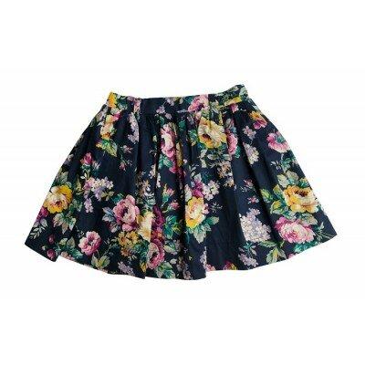Love Hernry Full Skirt - Bold Floral