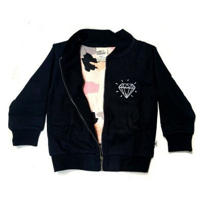 Milk and Masuki Diamond Twill Bomber