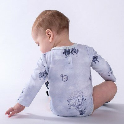 Aster and Oak Air Balloon Onesie