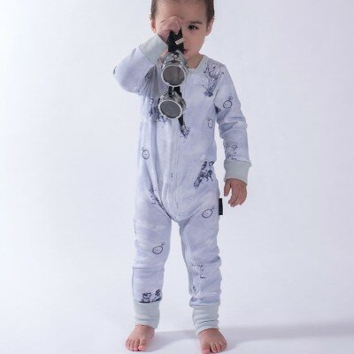 Aster and Oak Air Balloon Zip Romper