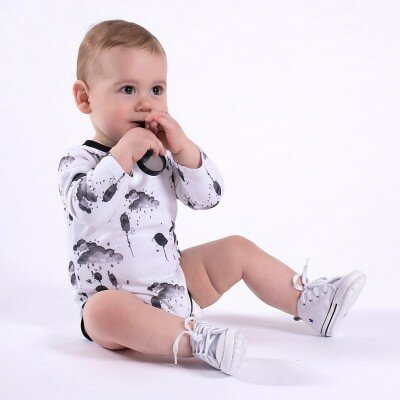 Aster and Oak Mono Cloud Onesie