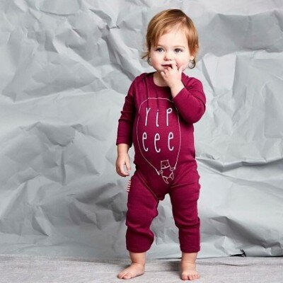 Yippeee Romper - Baby Girl Rompers
