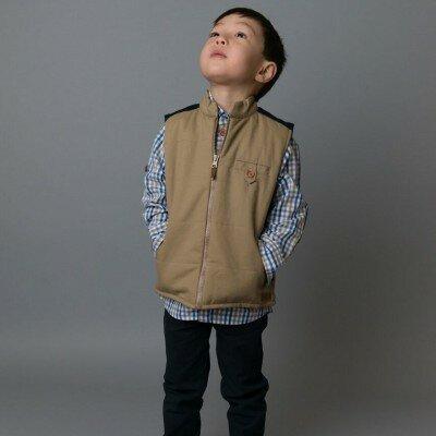 Love Henry Cooper Quilted Vest