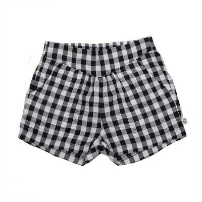 Hootkid Angelique Shorts - Black Check