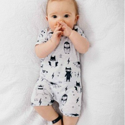 Milky Monsters Romper