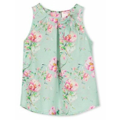 Milky Pretty Floral Top