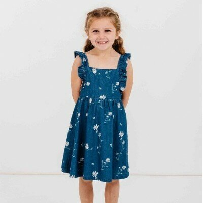 Milky Daisy Dress