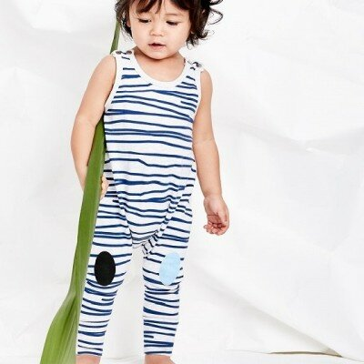Sookibaby Striped Fun All-in-one