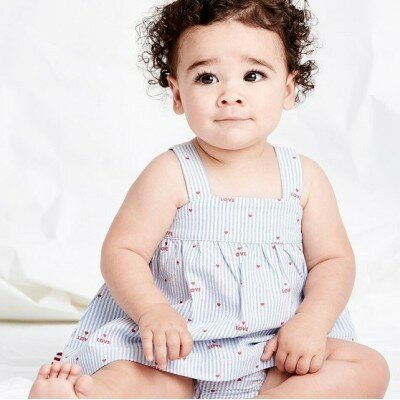 Sookibaby Heart Swing Top and Nappy Pants