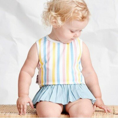Sookibaby Multi Stripe All-in-one