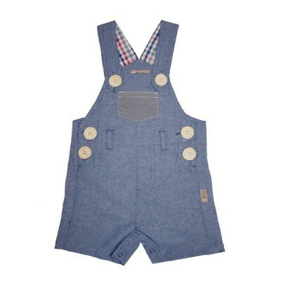 Love Henry Roy Dungaree - Dark Chambray