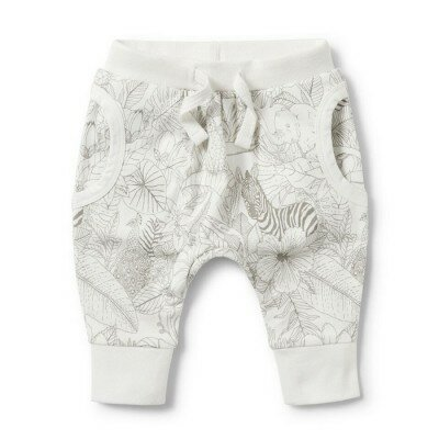 Wilson and Frenchy Slouch Pants - Peekaboo