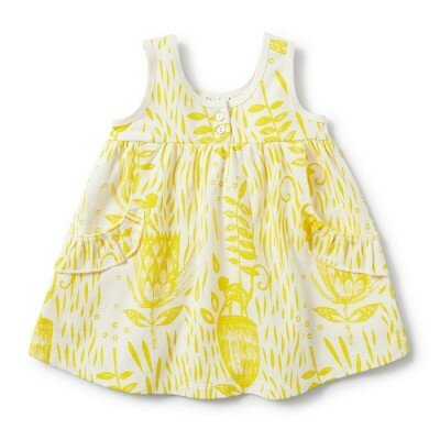 Wilson and Frenchy Mellow Yellow Dress