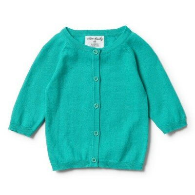 Wilson and Frenchy Summer Cardigan - Peacock