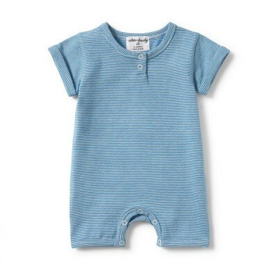 Wilson and Frenchy Stripe Detail Boyleg Growsuit