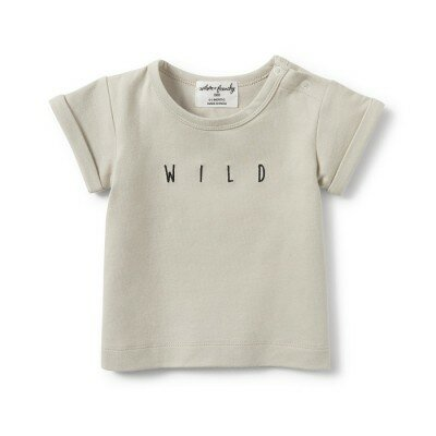 Wilson and Frenchy Wild Rolled Cuff Tee