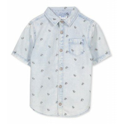 Milky Chambray Shirt