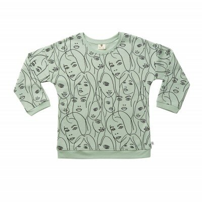 Hootkid All The Faces Sweater