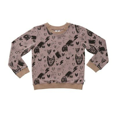 Hootkid Graffiti Sweater